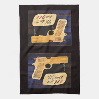 Gun Hand Towels