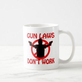 Gun Laws Don't Work Coffee Mug