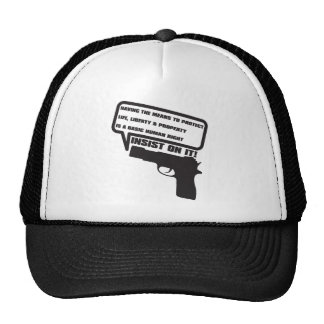 GUN_LAWS TRUCKER HATS