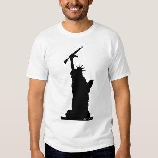Gun Liberty T Shirt