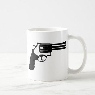 Gun magnum 38 spécail coffee mug