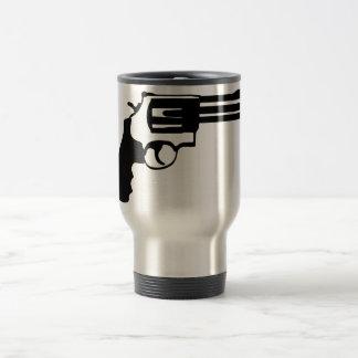 Gun magnum 38 spécail travel mug