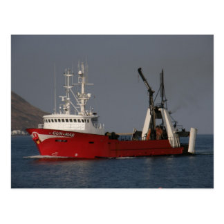 Gun Mar Fishing Trawler in Dutch Harbor AK Postcard