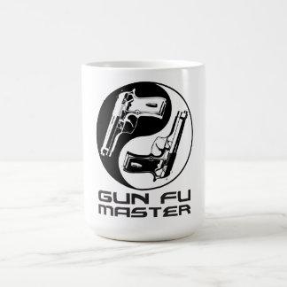 Gun Master Cup Classic White Coffee Mug