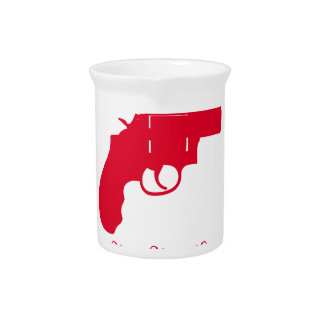 GUN MERRY CHRISTMAS . BEVERAGE PITCHER