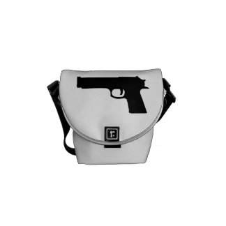 Gun Messenger Bag