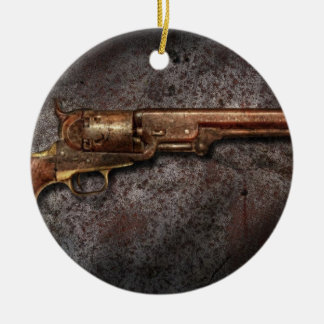 Gun - Model 1851 - 36 Caliber Revolver Ceramic Ornament