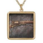 Gun - Model 1851 - 36 Caliber Revolver Custom Necklace