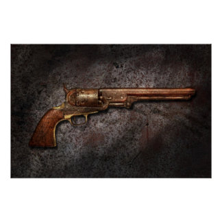 Gun - Model 1851 - 36 Caliber Revolver Posters