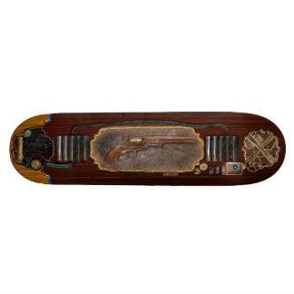 Gun - Model 1851 - 36 Caliber Revolver Skateboard Deck