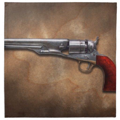 Gun - Model 1860 Army Revolver Cloth Napkin