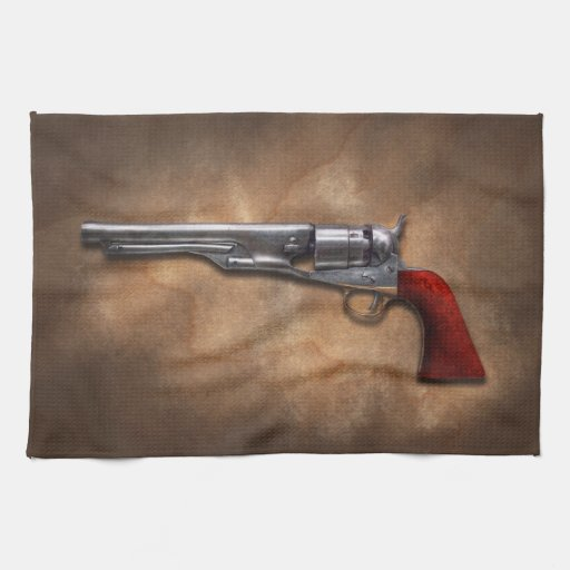 Gun - Model 1860 Army Revolver Towel