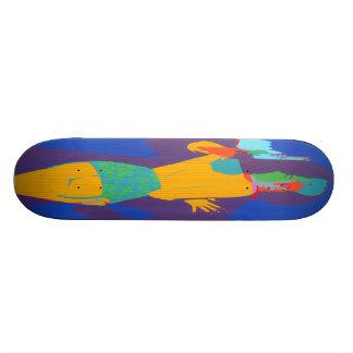 Gun Moll Custom Skateboard