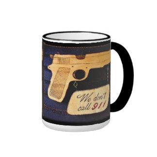 Gun Ringer Coffee Mug