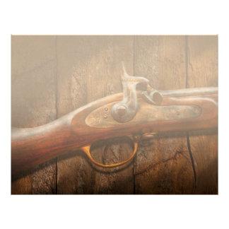 Gun - Musket - London Armory Letterhead