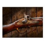 Gun - Musket - London Armory Post Card