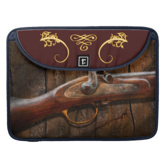 Gun - Musket - London Armory Sleeves For MacBook Pro