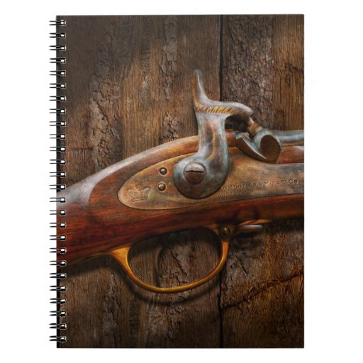 Gun - Musket - London Armory Spiral Note Books