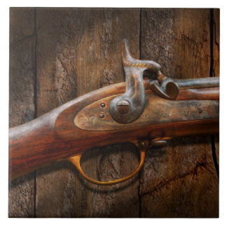 Gun - Musket - London Armory Large Square Tile