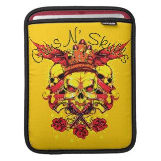 Gun n skulls sleeve for iPads