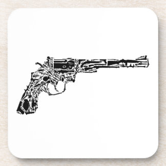 Gun of Guns Beverage Coaster