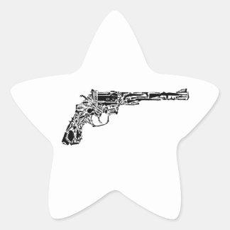 Gun of Guns Star Sticker