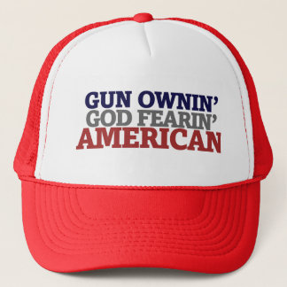 Gun Owner and AMERICAN Trucker Hat