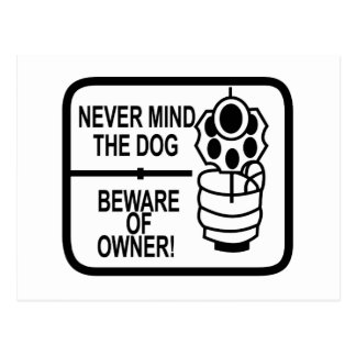 Gun Owners Patch. Postcard