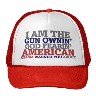 Gun Ownin' God Fearing American Trucker Hat
