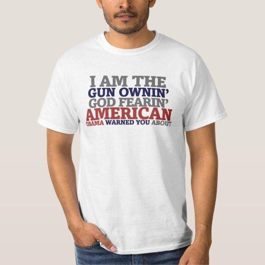 Gun Ownin' God Fearing American T-Shirt