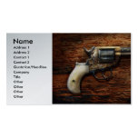 Gun- Police - True Grit Double-Sided Standard Business Cards (Pack Of 100)