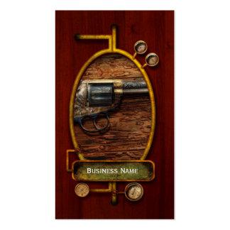 Gun- Police - True Grit Business Cards