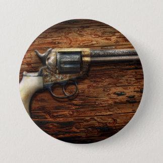 Gun- Police - True Grit Button