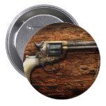 Gun- Police - True Grit Buttons