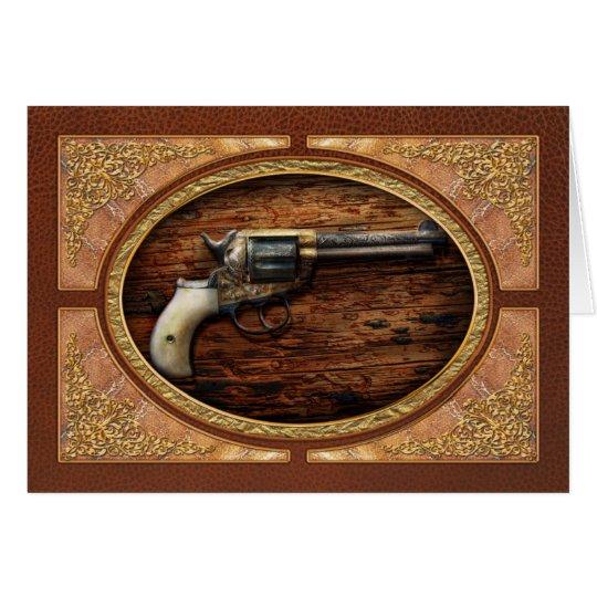 Gun- Police - True Grit Card