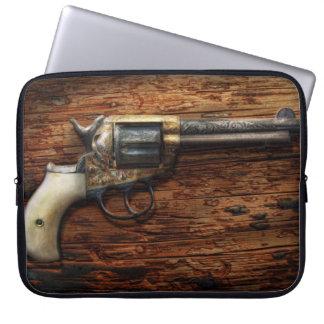 Gun- Police - True Grit Laptop Computer Sleeve