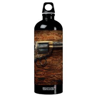 Gun- Police - True Grit Water Bottle
