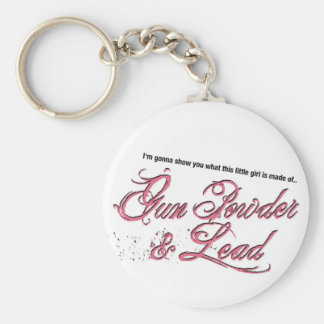 Gun Powder & Lead Keychains