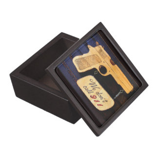 Gun Premium Keepsake Boxes