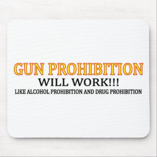 Gun Prohibition Mouse Pad