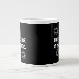 Gun Range Large Coffee Mug