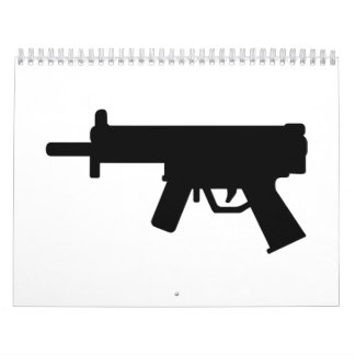 Gun rifle calendar