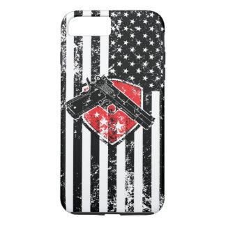 Gun Rights American Flag iPhone 7 Plus Case