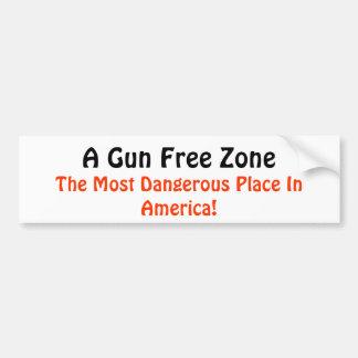 Gun Rights Car Bumper Sticker