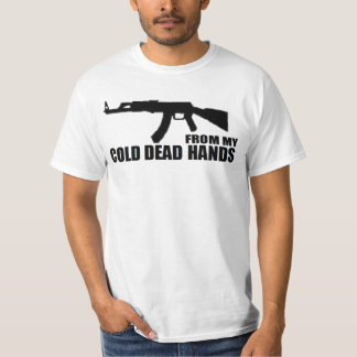 GUN RIGHTS 'FROM MY COLD DEAD HANDS' SHIRT