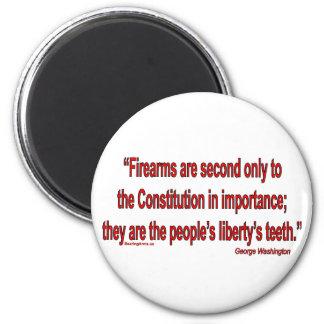 Gun Rights - Geo. Washington Magnet