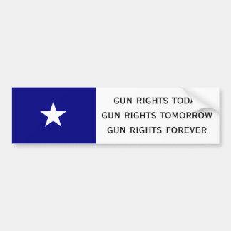 gun rights today car bumper sticker