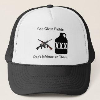 Gun rights trucker hat