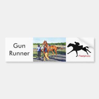 Gun Runner Bumper Sticker