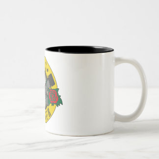 Gun ` s n Cacher Two-Tone Coffee Mug